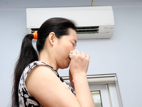 Viêm xoang tái phát khi ngồi máy lạnh
