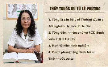Bác sĩ Lê Phương có chuyên môn cao và nhiều kinh nghiệm điều trị viêm họng mãn