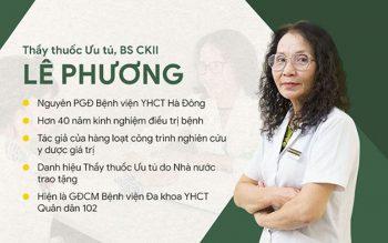 Bác sĩ Lê Phương Giám đốc chuyên môn bệnh viện Tai Mũi Họng Quân dân 102