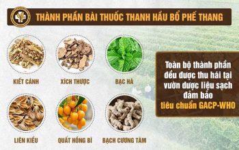 Bác sĩ Lê Phương điều trị viêm họng cho trẻ em bằng bài thuốc Thanh hầu Bổ phế thang